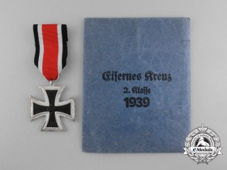 An Iron Cross 1939 Second Class with Original Packet of Issue by J.E. Hammer & Söhne