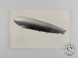 An Airmail Transported by Airship LZ 127 Graf Zeppelin