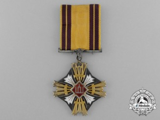 A Lithuanian Order of Gedimus 5th Class.