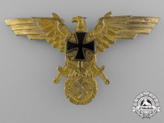 A Third Reich First War German Kriegsmarine Veteran's League Breast Eagle