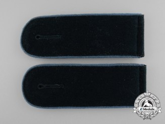 A Matching Pair of Wehrmacht Transport Troops Enlisted Man's Shoulder Boards