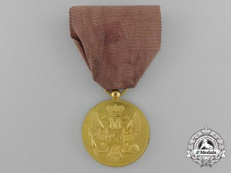 Montenegro. A Bravery Medal, French Manufacture, c.1915