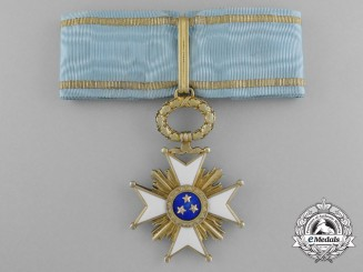 Latvia. An Order of the Three Stars, Third Class Commander, c.1915