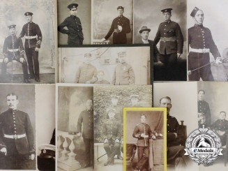 A Lot of Thirteen British Military Photographs