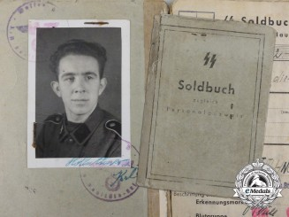 "An SS-Soldbuch to Hungarian Volunteer in the 22nd SS Volunteer Cavalry Division ""Maria Theresia"""