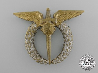 A Czech Second War Air Force Pilot Badge