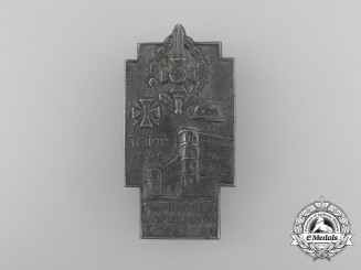 Germany, Third Reich. A 1936 NSKOV 1936 Front-Fighters & War Casualties Remembrance Day Badge