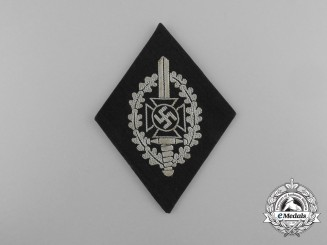 A Mint National Socialist War Victim's Care Sleeve Patch