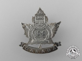 "A First War 188th Infantry Battalion ""Saskatchewan Battalion"" Sweetheart Badge"