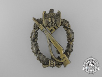 A Mint Bronze Grade Infantry Assault Badge