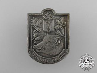 A Fine Quality Danziger Hunter Badge by M. Stumpf & Sohn