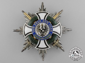 Prussia, Kingdom. An Order of Hohenzollern, Grand Cross Star, by Godet , c.1915