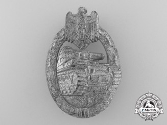 A Silver Grade Tank Badge by Hymmen & Co. of Lüdenscheid
