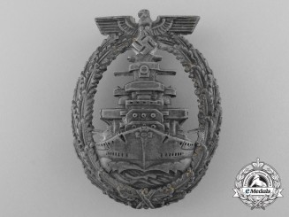 A High Seas Fleet Badge by Richard Simm & Söhne of Gablonz