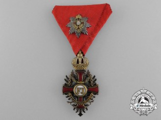An Austrian Order of Franz Joseph; Knight with Grand Cross Decoration; Circa 1917-1918