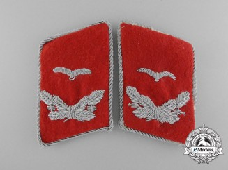 A Matching Set of Flak/Artillery Leutnant Collar Tabs