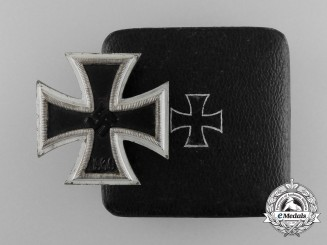An Iron Cross 1939 First Class by Carl Wind with Original Case of Issue