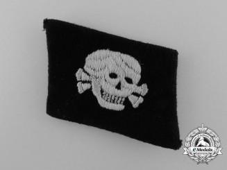 An SS Totenkopf EM/NCO's Collar Tab