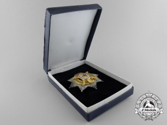 A Socialist Yugoslavian Order of Military Merit; 2nd Class with Gold Swords