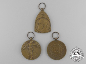 Three First War Belgian Medals and Awards