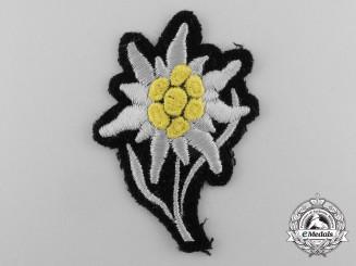 A Mint and Unissued Waffen-SS Gebirgstruppen Cap Edelweiss