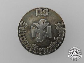 A Second War German Nurses Badge in 800 Silver