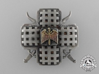 A Rare Romanian Iron Guard Leader's Badge