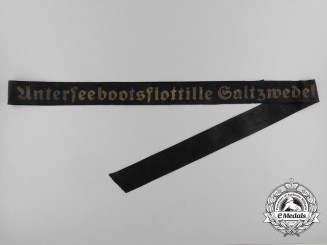 A Full Length 2nd Saltzwedel U-Boat Flotilla Cap Tally