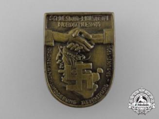Germany, Third Reich. A 1933 Border-Lands Schleswig-Holstein Rally Badge