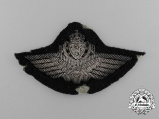 A Norwegian Second War Army Pilot Cap Badge