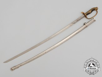 A 1920-1940 Type 19 Kyū Guntō Japanese Army Officer's Sword