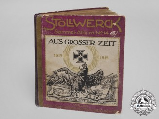 A 1913 Promotional Collector's Album of Germany's Important Persons, Places, and Events