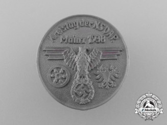 Germany, NSDAP. A 1938 Mainz District Council Day Badge