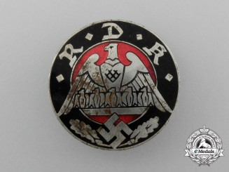 A Reich's Union of Large Families Badge