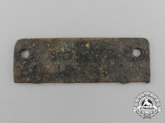 A Numbered 155373 Stalag IV-B POW ID-Disc Tag