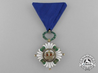 An Order of the Yugoslav Crown, 4th Class (1929-1941)
