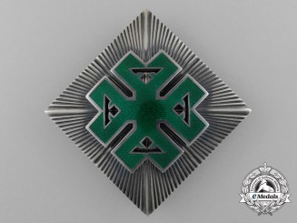 A Romanian Order of Ferdinand I, Grand Cross Breast Star