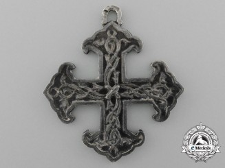 A Cross of the Society for the Restoration of the Russian Orthodox Faith in the Caucasus, Order of St. Nina 1860, Fourth Class