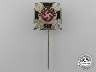 A Reichstreuebund of Former Soldiers 25-Year Membership Stick Pin