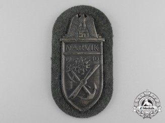 A Wehrmacht Heer (Army) Issue Narvik Shield