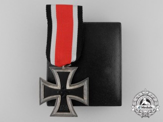 A Mint Iron Cross 1939 Second Class in its Original Case of Issue by LDO