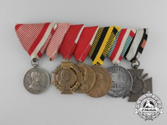 A First War Austrian Bravery Medal Bar