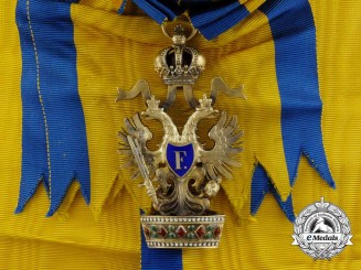 An Imperial Austrian Order of the Iron Crown, 1st Class
