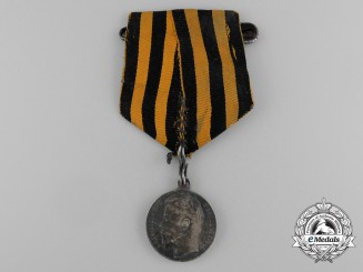 An Imperial Russian Saint George Medal for Bravery; 4th Class