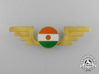 A Niger Air Force Pilot Badge