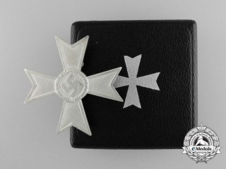 A Mint War Merit Cross First Class without Swords in its Original Case of Issue
