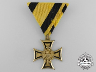 An Austrian Military Long Service Decoration, 2nd Class for Forty Years' Service