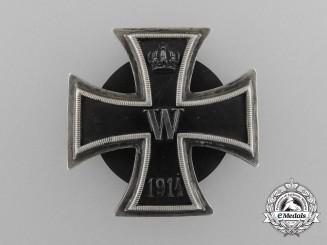 A Fine Silver Iron Cross First Class 1914
