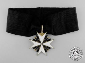 A Prussian Johanniter Order; Ehrenritter Neck Cross
