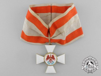 A Prussian Order of the Red Eagle; 3rd Class Commander in Gold